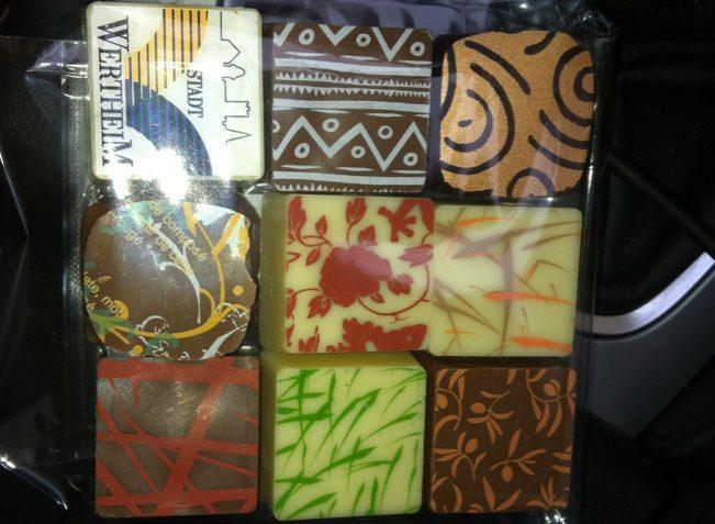 """Meine Pralinen von """"Art of Chocolate"""""""