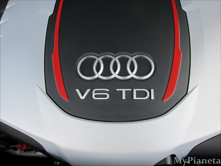 Motor des Audi SQ5 3.0 TDI