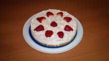 Marshmallow Erdbeer Torte