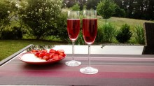 Erdbeeren in verschiedenen Variationen