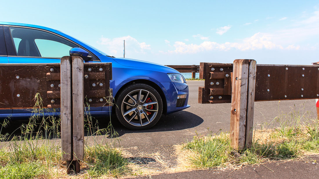 Sommerreifen auf dem Skoda Octavia RS
