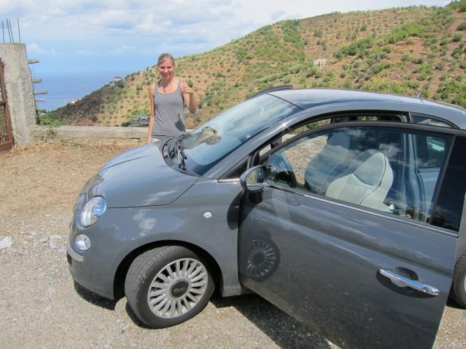 Unsere Mietwagenerfahrung in Sizilien mit dem Fiat 500 von Hertz
