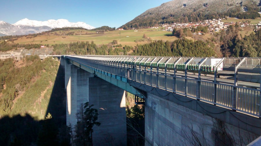 Europabrücke Brennerautobahn