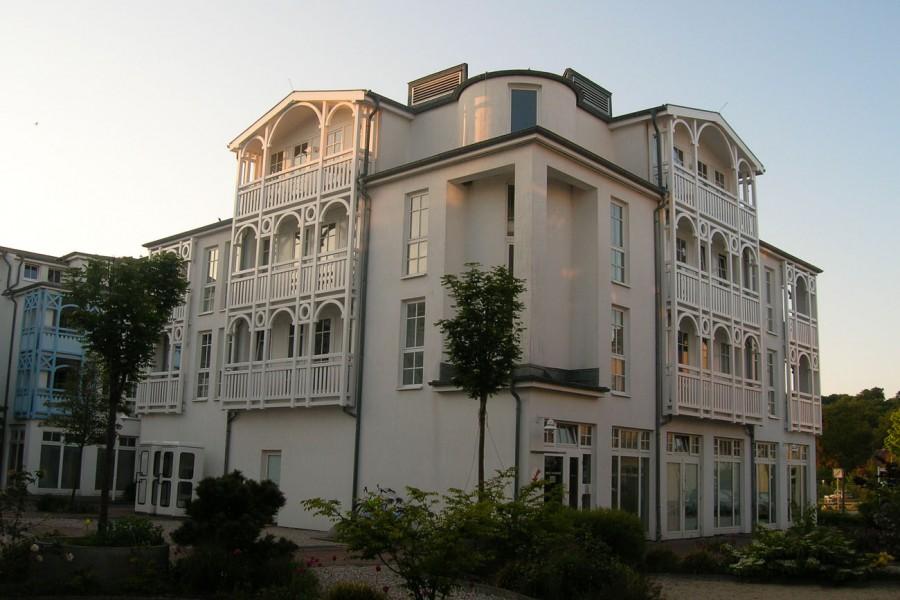 So sehen die Häuser mit den Ferienwohnungen im Seepark aus