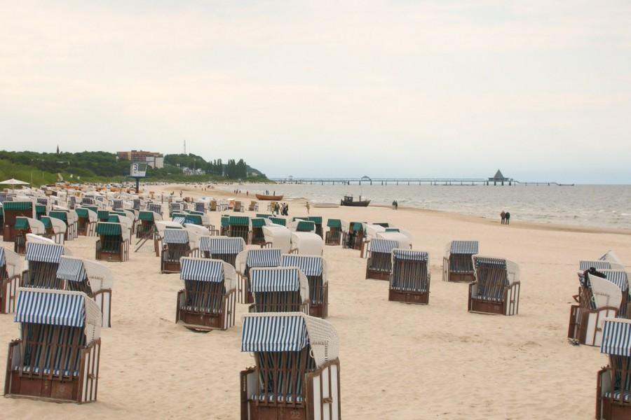 Strandkörbe auf Rügen