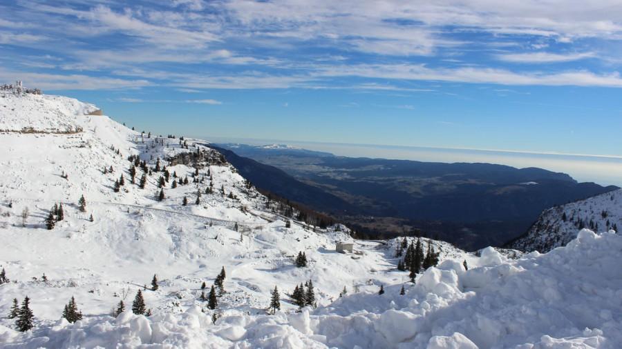 Neujahrestag: in der Nähe von Folgaria