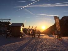 Ski-Schnupperstunde in den Dolomiten