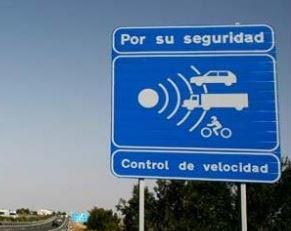 Geschwindigkeitskontrolle Spanien