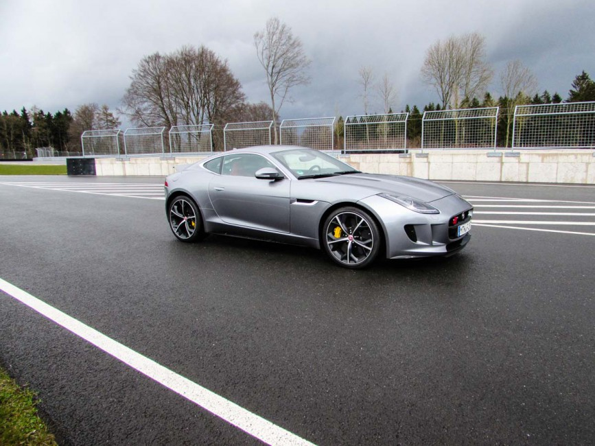 Jaguar F-Type R grey