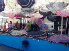 Wochenmarkt in Mataró in der Provinz Barcelona