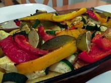 Rezept für scharfen Gemüse-Hähnchen-Auflauf