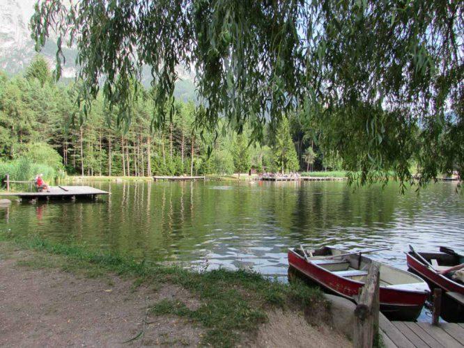 Lago di Fie boote