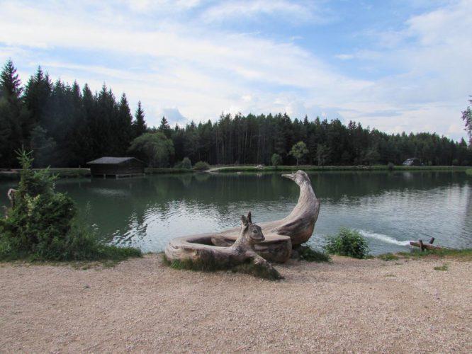 Lago di Fie oberer See Natur