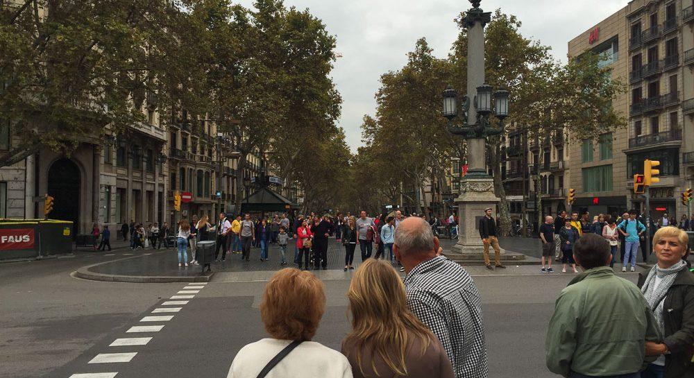 Barcelona innenstadt