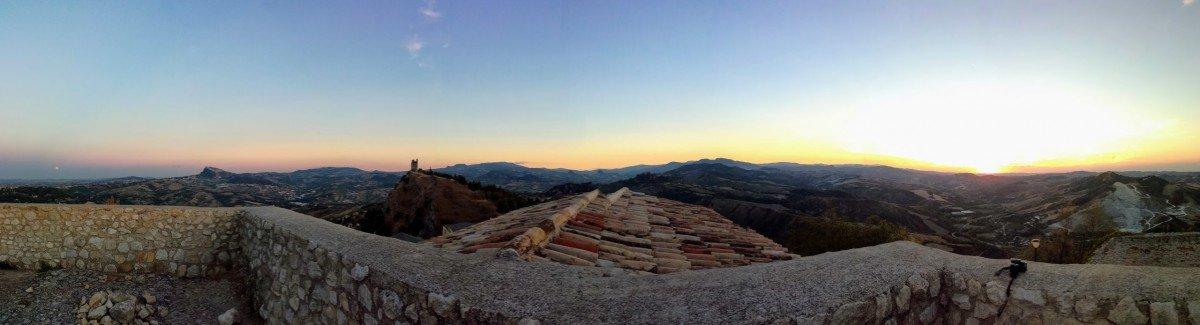 Panoramablick auf San Marino