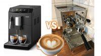 Kaffeevollautomat oder gleich Siebträger Maschine?
